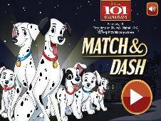 101 Dalmatians : Match And Dash