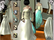 3D Wedding Dress Up