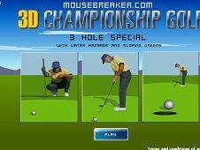3D Championship Golf