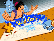 Aladdin Amazing map