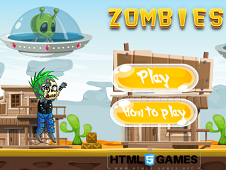 Aliens Burning Zombies
