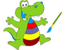 Alligator Coloring