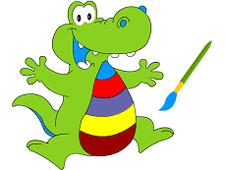 Alligator Coloring