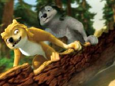 Alpha And Omega Tree Bark Sled Ride