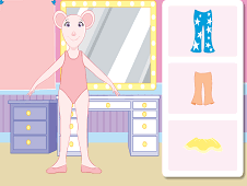 Angelina Ballerina Dress Up