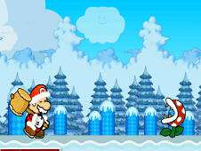 Angry Santa Mario