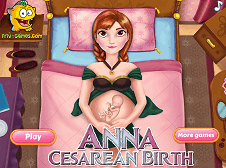 Anna Cesarean Birth