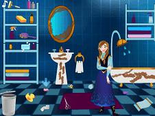 Anna Cleaning Bathroom