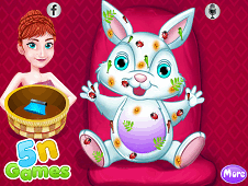 Anna Easter Bunny Care