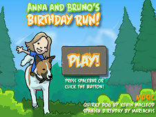 Anna and Bruno Birthday Run