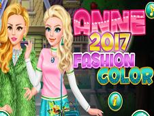 Anne 2017 Fashion Color