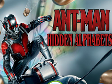Ant Man Hidden Alphabets