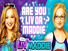 Are You Liv Or Maddie