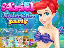 Ariel Underwater Party