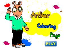 Arthur Coloring Page
