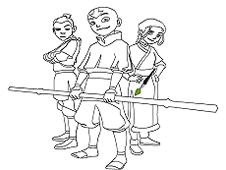 Avatar Online Coloring Game