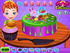 Baby Anna Easter Cake