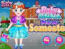 Baby Anna New Semester