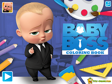 Baby Boss Coloring Book