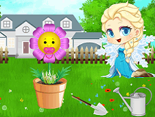Baby Elsa Flower Care