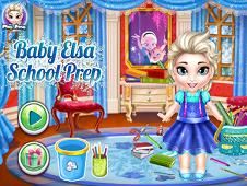 Baby Elsa School Prep