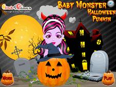 Baby Monster Halloween Pumkin