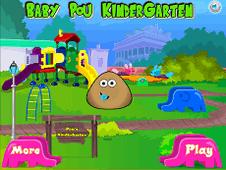 Baby Pou Kindergarten