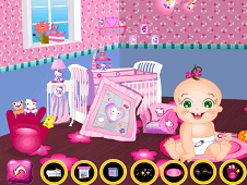 Baby Rosy Bedroom Decoration