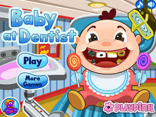 Baby At Dentist