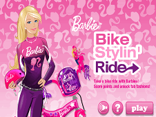 Barbie Bike Stylin Ride