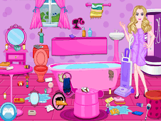 barbie bathroom cleaning games bathroom cleaning 10416