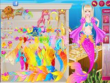 Barbie Modern Mermaid Dress up