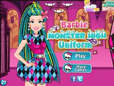 Barbie Monster High Uniform