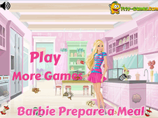Barbie Prepare A Meal