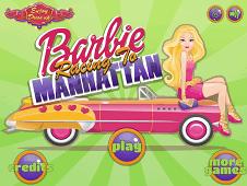 Barbie Racing To Manhattan