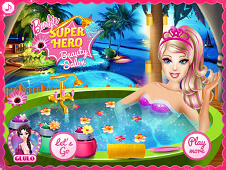Barbie Superhero Beauty Spa