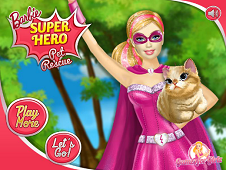 Barbie Superhero Cat Rescue