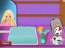 Barbie Washing Dishes