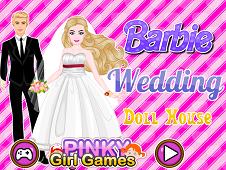 Barbie Wedding Doll House