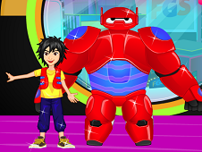 Baymax And Hamada Dress Up