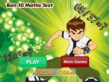 Ben 10 Math Test