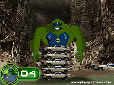 Ben 10 Ultimate Humungousaur Super Giant Strength