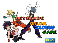 Beyblade Coloring
