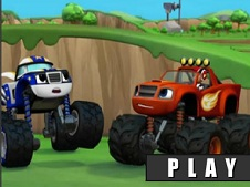 Blaze and the Monster Truck Differences