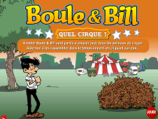 Boule and Bill at The Circus