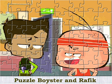 Boyster And Rafik Puzzle