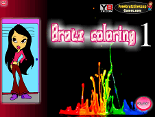 Bratz Coloring