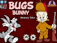 Bugs Bunny Memory Tiles