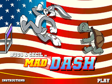 Bugs and Cecil In Mad Dash