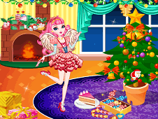 C.A. Cupid Christmas Decor Room